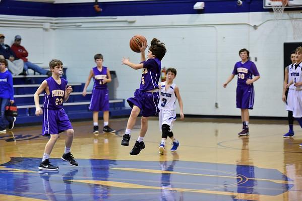 Basketball 7th Boys NW vs WS 1-27-16