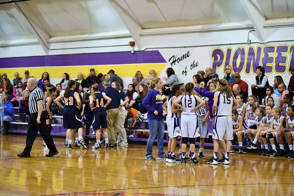 Basketball 7th Girls NW vs NH 12-17-15