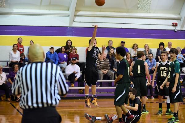 Basketball 8th Boys NW vs VP 11-12-15