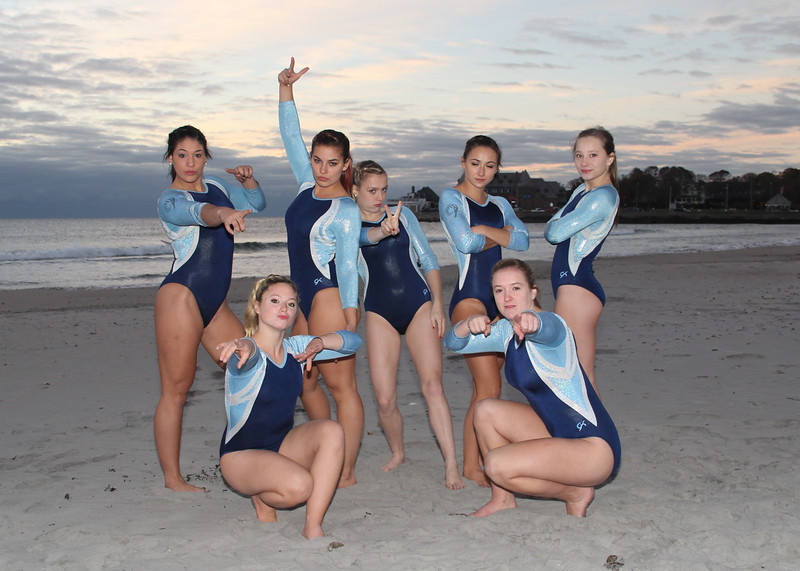2015/16 URI Gymnastics Team Photos