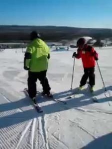 Newbies on the slopes!