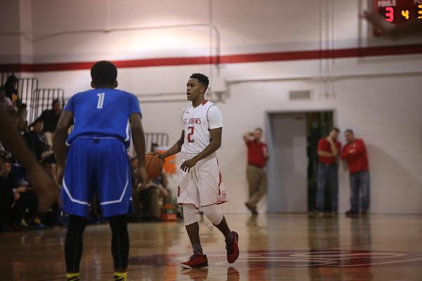 Boys Basketball: St. John's vs. O'Connell