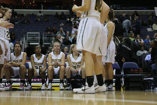 Girls Basketball: DCSAA Semis Visitation vs Friendship