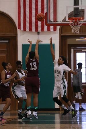 Girls Basketball: Sidwell vs. Wilson