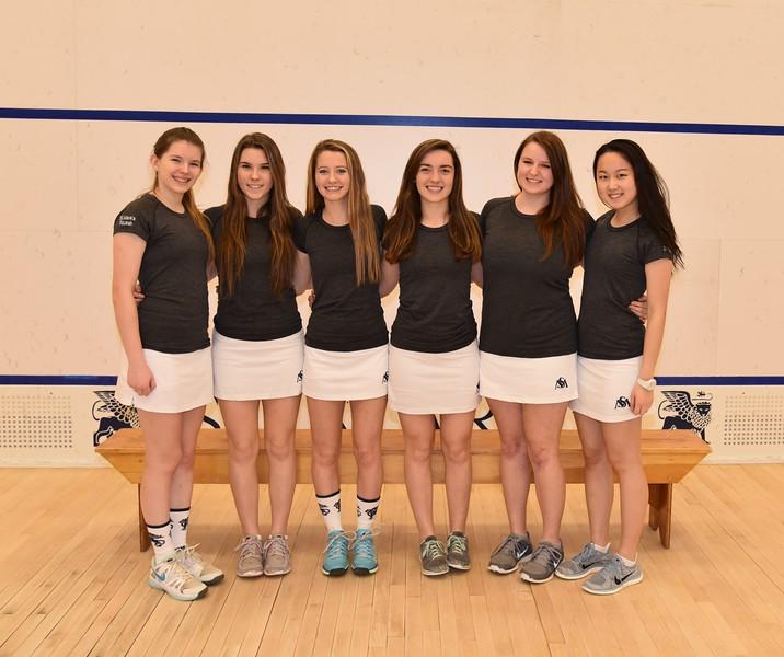 Girls Varsity Squash Seniors