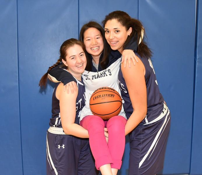 Girls Varsity Basketball Seniors