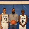 Boys Varsity Basketball Seniors & Coach