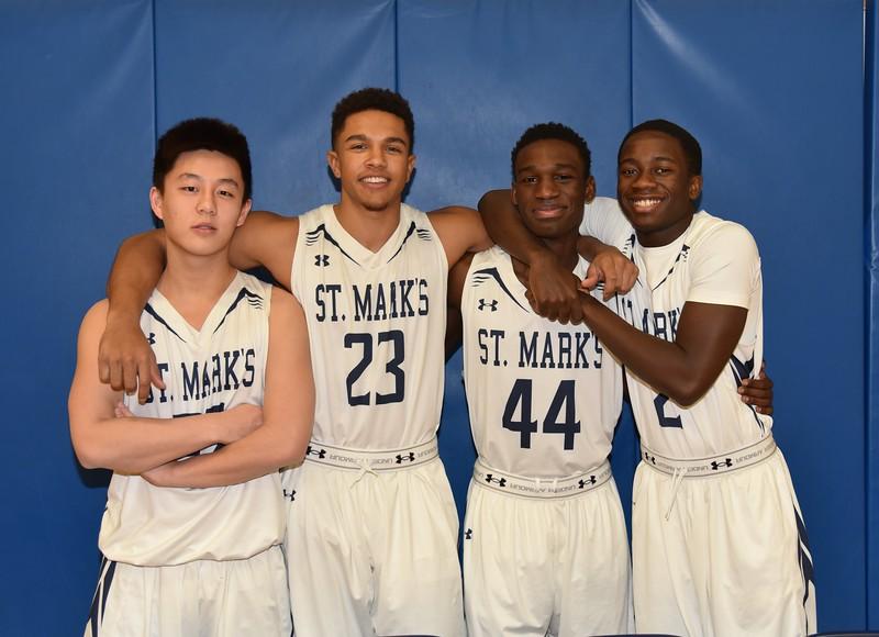 Boys Varsity Basketball Seniors - Fun