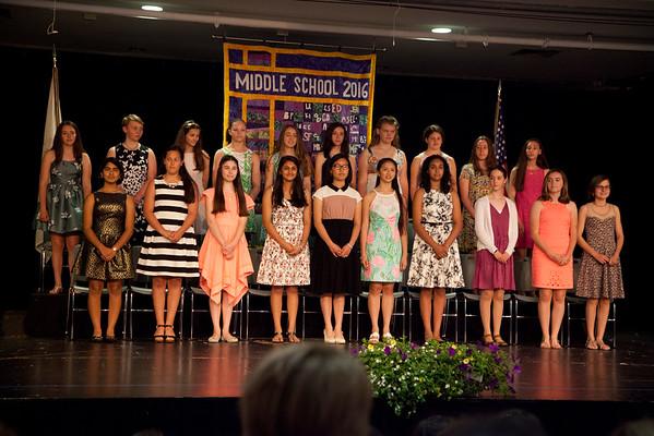 Middle School Graduation 2016