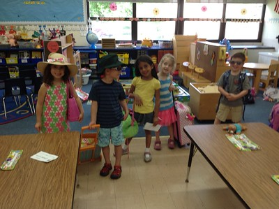 PreK 3 and 4 Hawaii Day