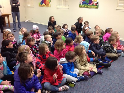 PreK and K Field Trip