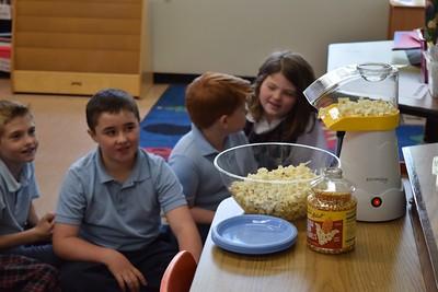 Third Grade Popcorn Party