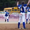 Boonevilles Katie Grace Davis with the outfield play in Saturdays Jamboree at Tupelo (Photo By Chris Butler)