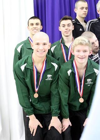 State Swimming Championships Podium shots- 2/13/16