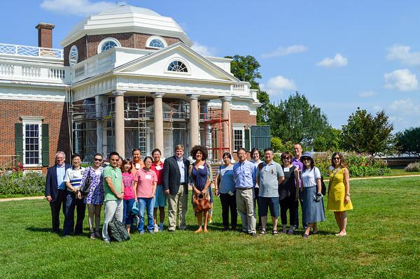 Parents' Visit to Monticello