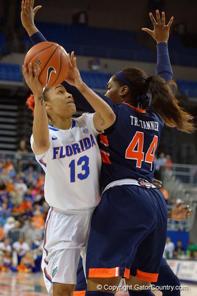 University of Florida Gators Womens Basketball Auburn Tigers 2016