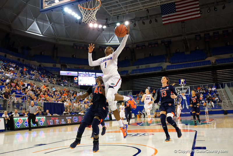University of Florida Gators Womens Basketball Auburn Tigers 2016