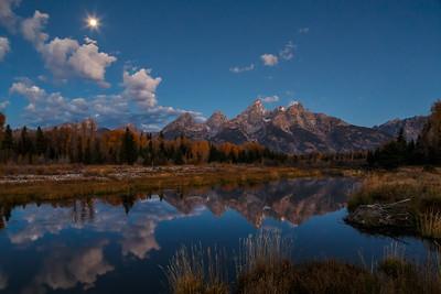 Tetons by Moonlight