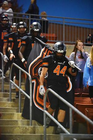 2015 Platte County Varsity Football vs St Joe Benton