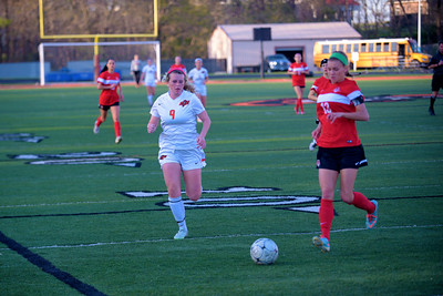 2016 Platte County Girls Soccer vs Park Hill