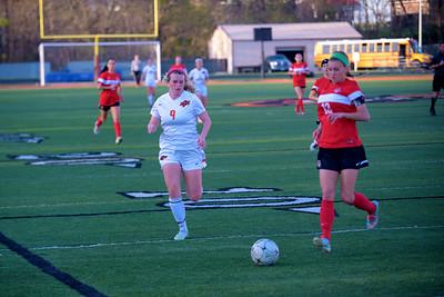 2016 Platte County Girls Soccer vs Park Hill