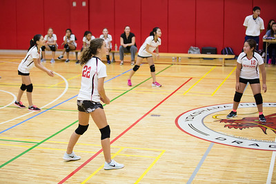 MS Girls VBall St  Maur 10 Sept-20