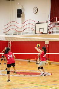 MS Girls VBall St  Maur 10 Sept-10