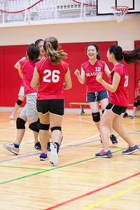MS Girls VBall St  Maur 10 Sept-13