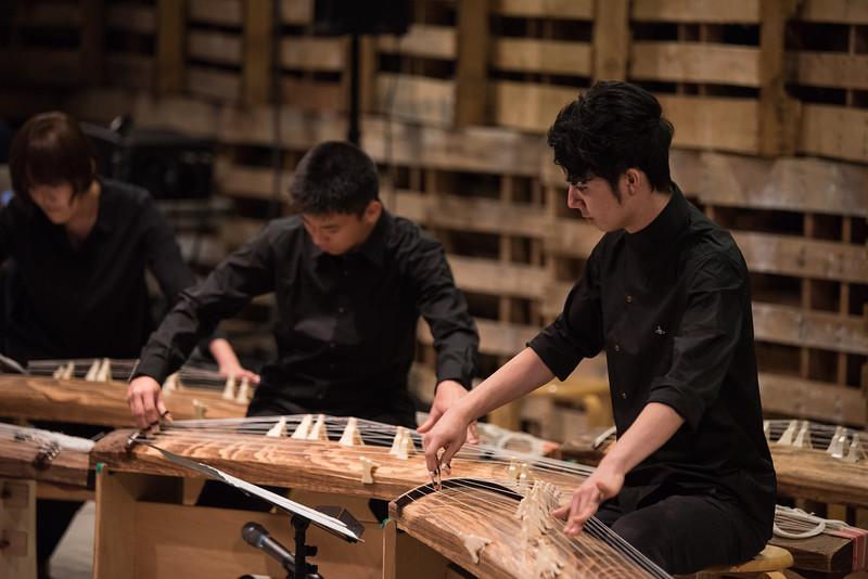 YIS HS Koto Ensemble at BankART Studio 2015
