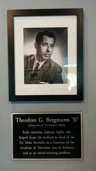 Theodore G. Bergmann Theater Dedication
