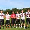 Varsity Football Captains 2015