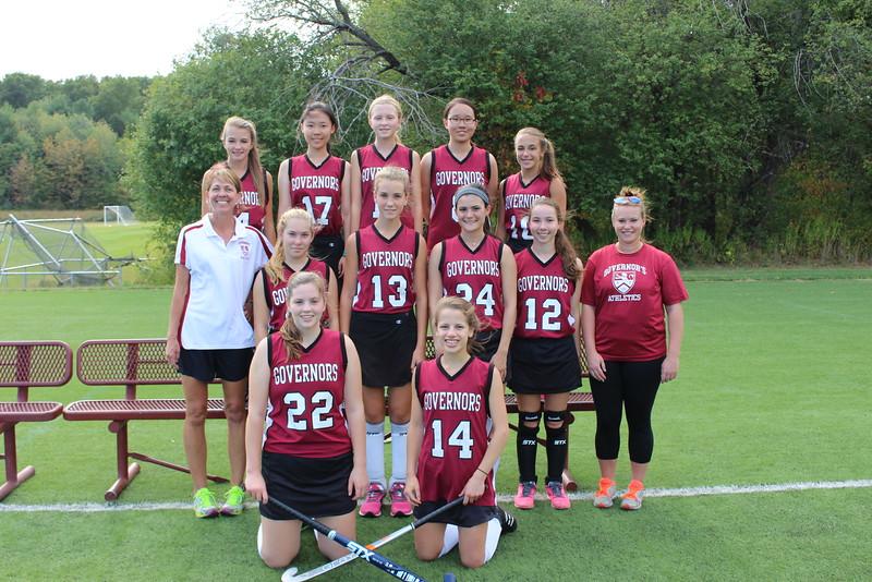 Girls JV Field Hockey 2015