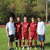 Boys Varsity Soccer Captains 2015