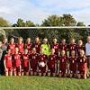 Girls Varsity Soccer 2015