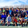 Boys JV Tennis 2016