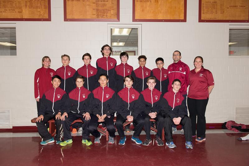 Track & Field, Indoor Boys Varsity