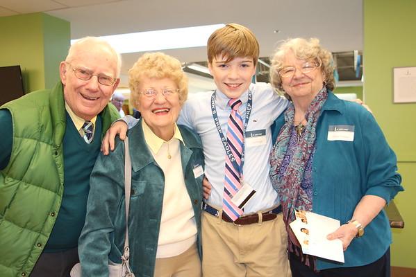 Grade 7 Grandparents Day!