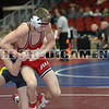 2016 Iowa High School State Tournament<br /> 2A-106<br /> Semifinal - Eric Faught (Clear Lake) won by decision over Shea Ruffridge (Pocahontas Area/L-M) (Dec 9-7)