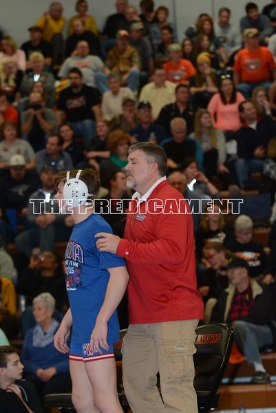 2016 Mississippi Valley Conference<br /> 126<br /> 1st Place Match - Nolan Hromidko (Cedar Rapids Kennedy) 26-3 won by major decision over Will Foreman (Cedar Rapids Washington) 27-3 (MD 12-3)