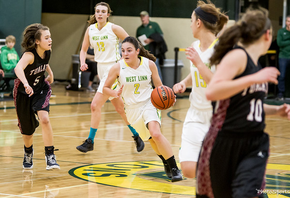 West Linn  vs. Tualatin January 22, 2016