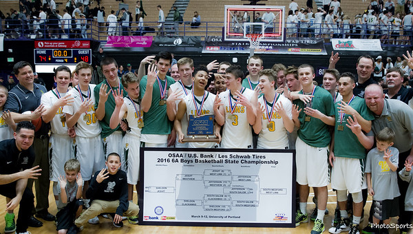 2015-2016 West Linn Varsity Basketball