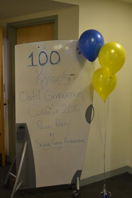 100 Knights Until Graduation