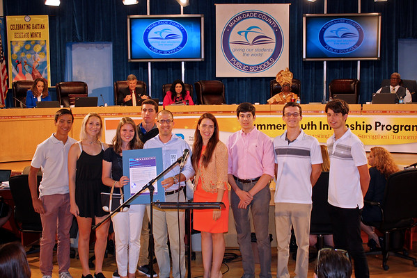 RE AP Government - Miami-Dade County School Board Recognition