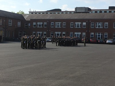 Army Band in School