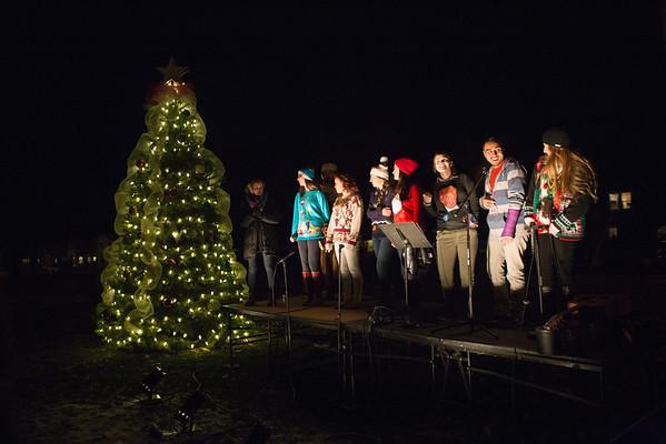 Christmas Tree Lighting (12-1-15)