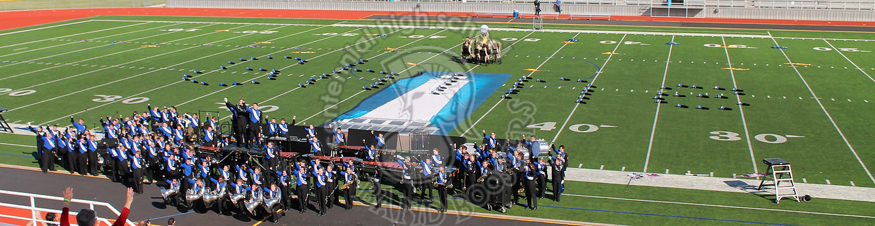 10/26/2015 UIL Area Marching Competition
