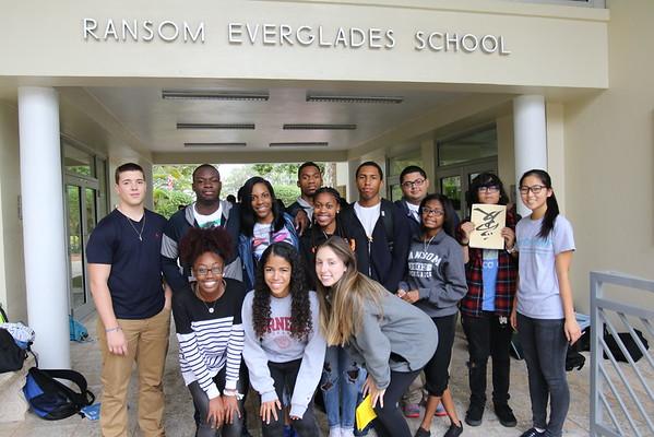 Exchange Program with Booker T. Washington High School