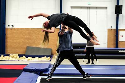 Gymnastik - blandede bolsjer