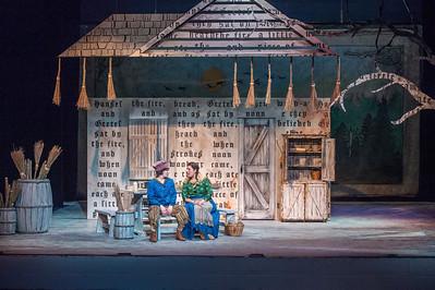 Hansel and Gretel dress rehearsal