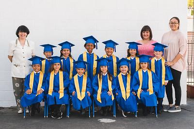 Kinder Graduation Class Photo